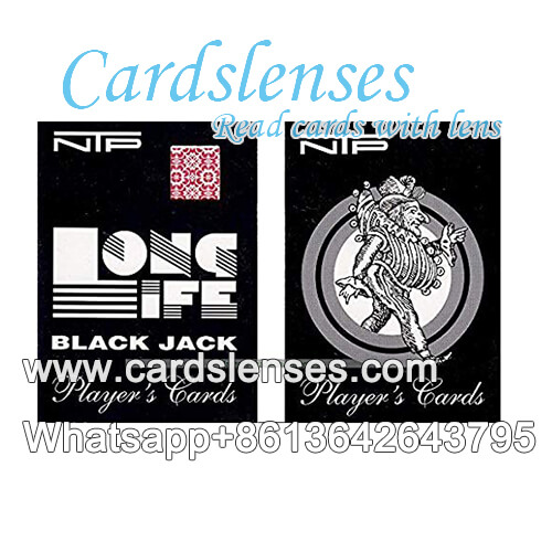 ntp black jack juice ink marked cards