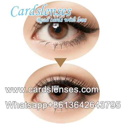 omnipotente baraja marcada lentes de contacto