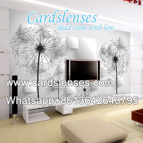 optical zoom ir camera wall painting for special infrared playing cards