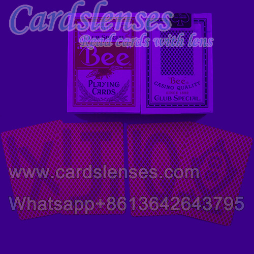 perspective bee marked cards for luminous contact lens