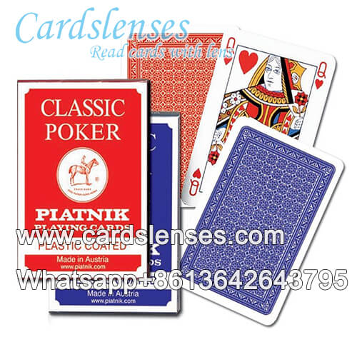 Cheating marked cards piatnik classic poker