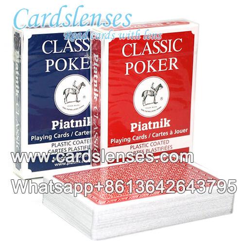 Batota baralho marcado Piatnik Classic poker