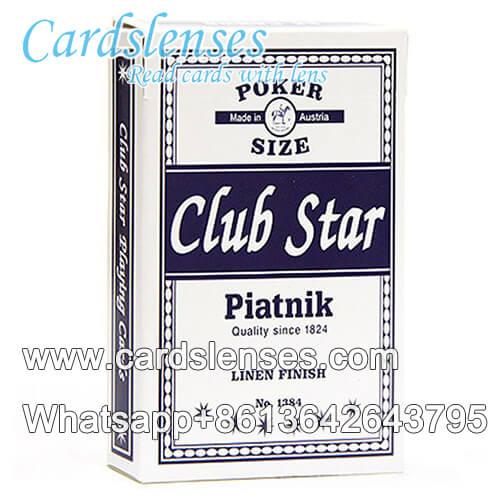 Magia usando Piatnik Club Star baraja marcada