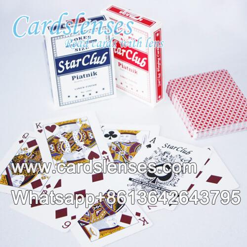 Uso magico Piatnik Club Star carte segnate