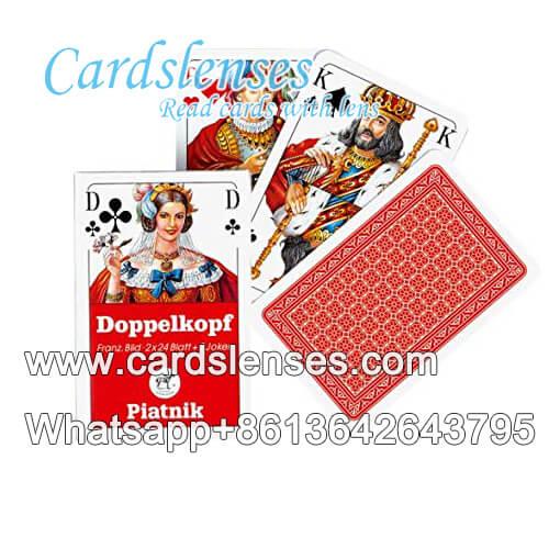 Piatnik Doppelkoph gaming cheating cards