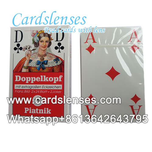 Piatnik Doppelkoph gaming cheating cards