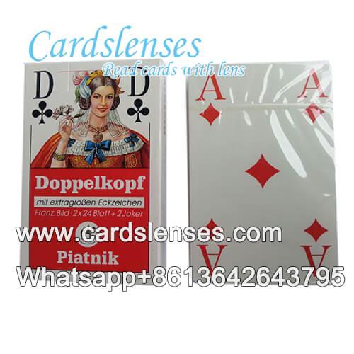 Piatnik Doppelkoph carte da gioco barare