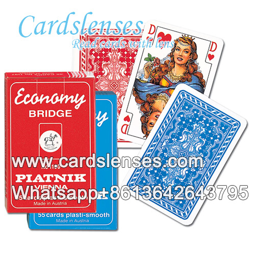 casino piatnik economy red poker cards