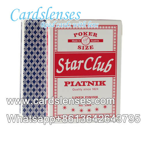 piatnik star club carte segnate barare