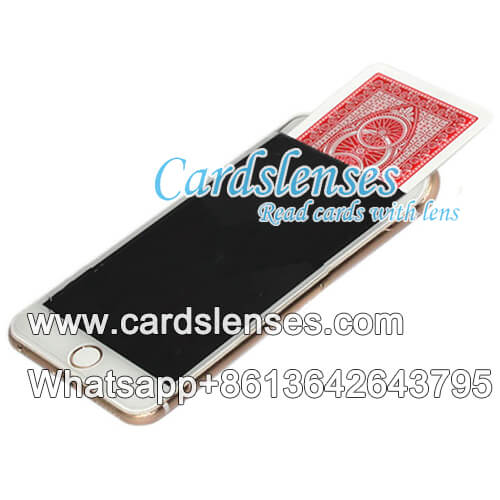 customized smart phone to exchange playing cards