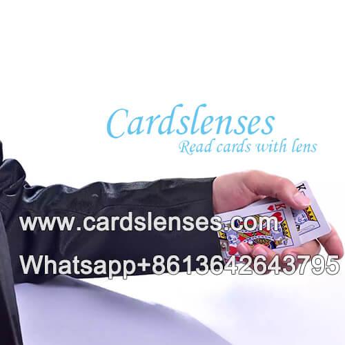 Kartentrick Poker Karten Tauscher Manschette