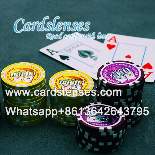 poker chip scanner for edge marked barcode cards