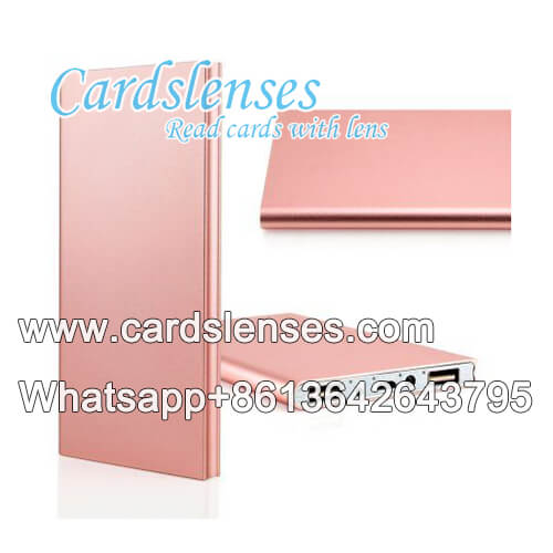 power bank inspector for barcode marked cards