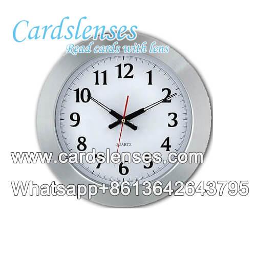 relógio de parede lente de digitalização