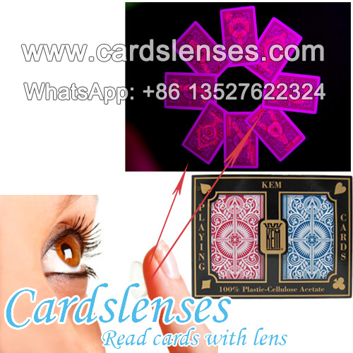 see through contact lenses for playing cards