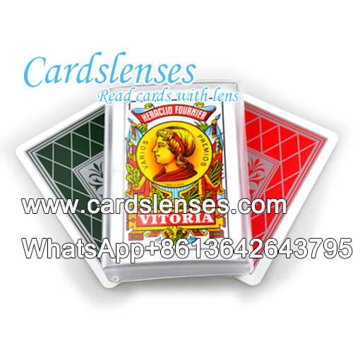 Fournier Heraclio Vitoria marked cards