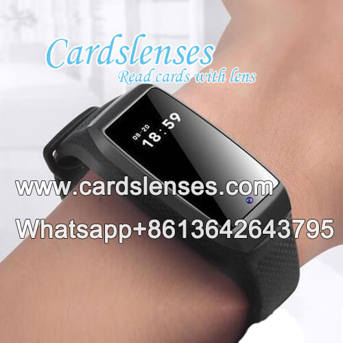 sport wristband watch poker scanner for akk poker analyzer