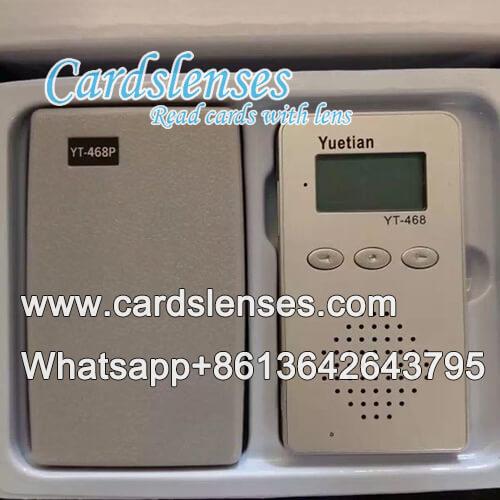 GS póquer infrarrojos radio de dos vías