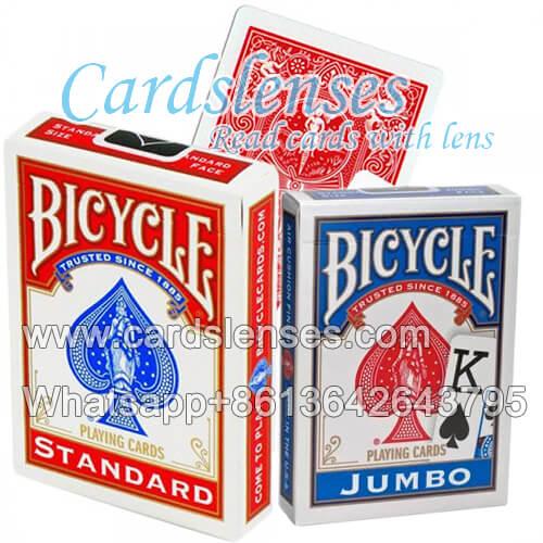 cartas marcadas cartões de Bicycle