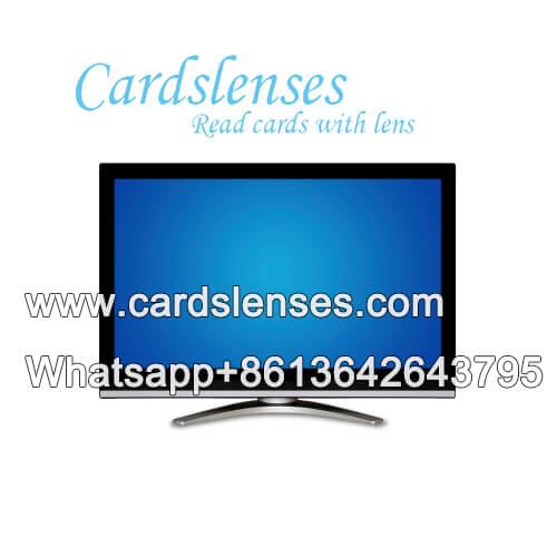Tarjetas de póquer de TV escáner de código de barras