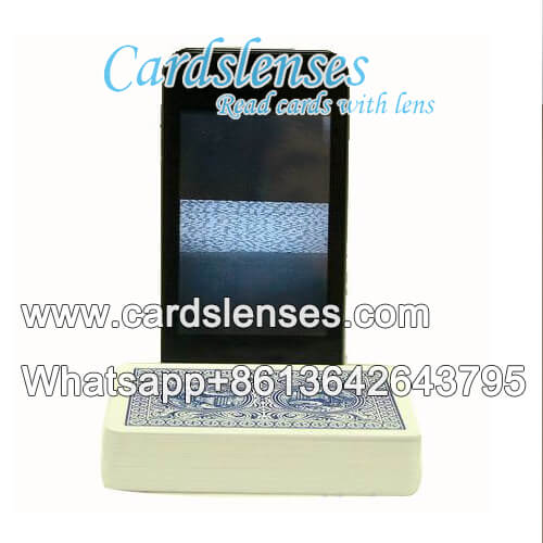 codigo de barras de tinta luminosa jogando cartas analisador software