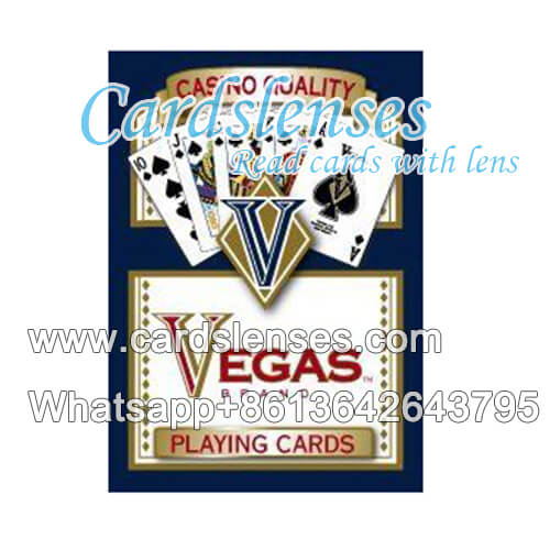 vegas plastic marked playing cards