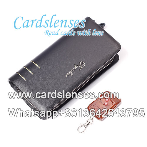 wallet double lens barcode poker scanner