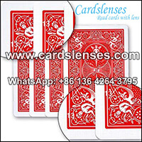 bicyle maiden marked playing cards