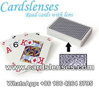 Copag Texas Holdem Peek Index Barcode-Karten