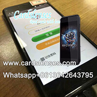 CVK600 Marked Cards Poker Analyzer Phone