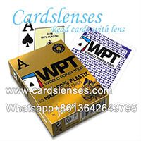 Fournier WPT playing cards