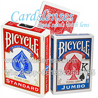 Marked cards Bicycle cards