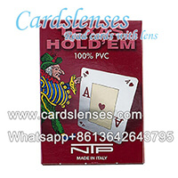 NTP invisible ink marked cards