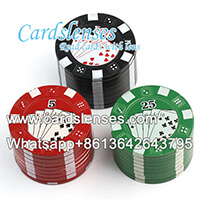 scanner di chip di poker