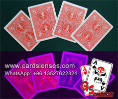 Contact Lenses Bicycle Marked Playing Cards