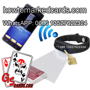 Sport Wristband Watch Poker analyzer Scanner
